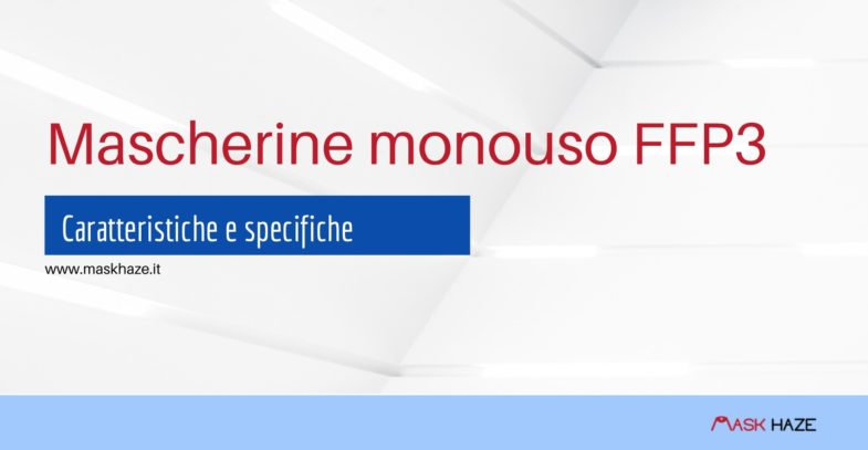 mascherine monouso ffp3
