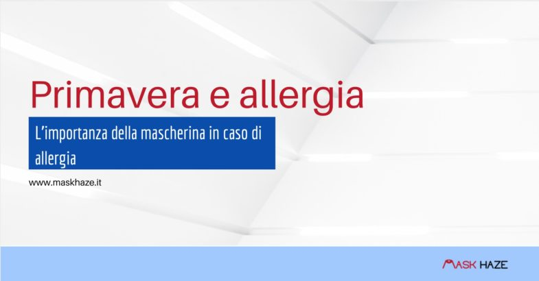 mascherina per allergia