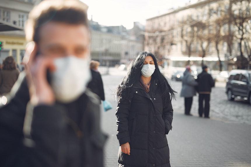 mascherina protettiva dpi