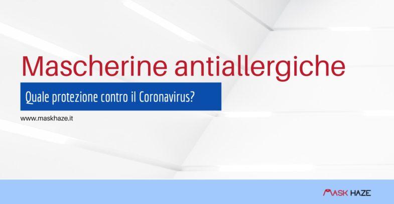 mascherine antiallergiche