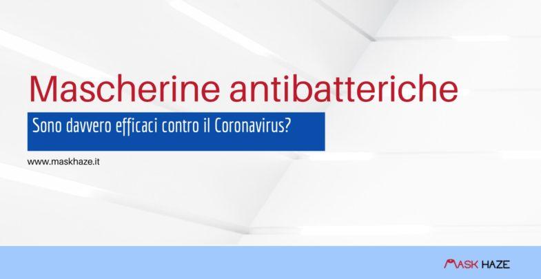 mascherine antibatteriche