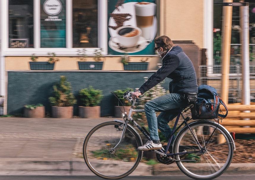Consigli per l'utilizzo della mascherina antismog per ciclisti