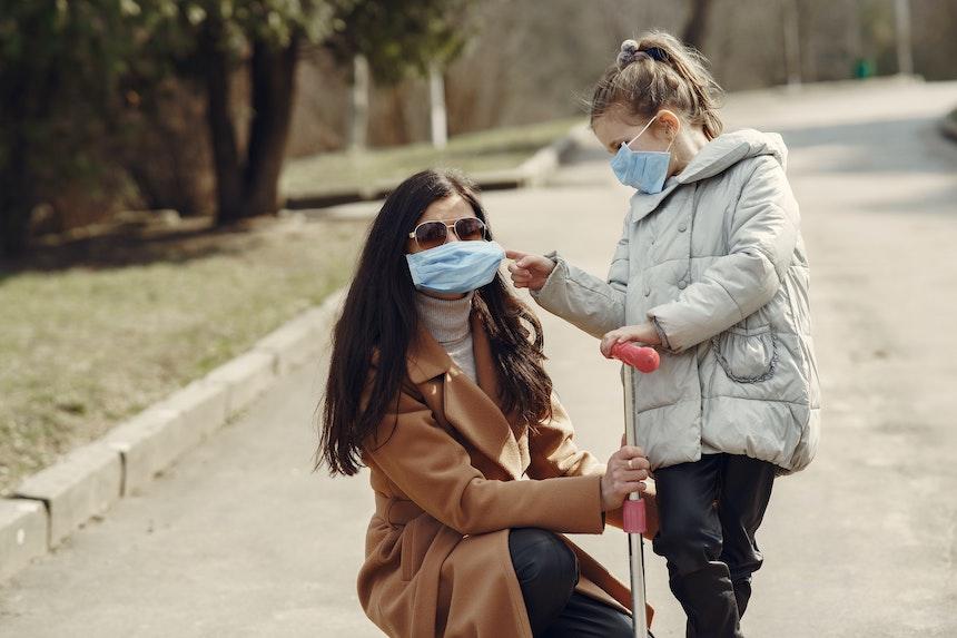mascherine chirurgiche e coronavirus