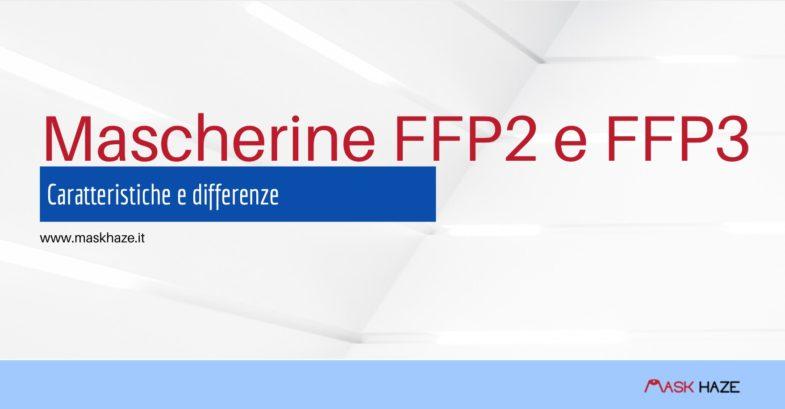 mascherine ffp2 e ffp3