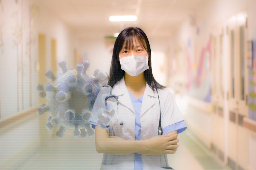 mascherine mediche e per assistenti sanitari