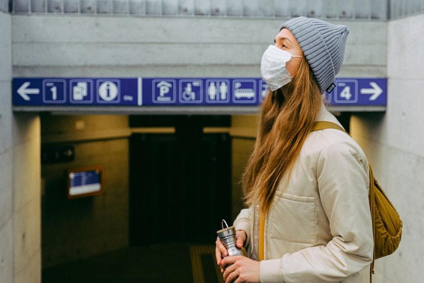 mascherine per polveri sottili e coronavirus