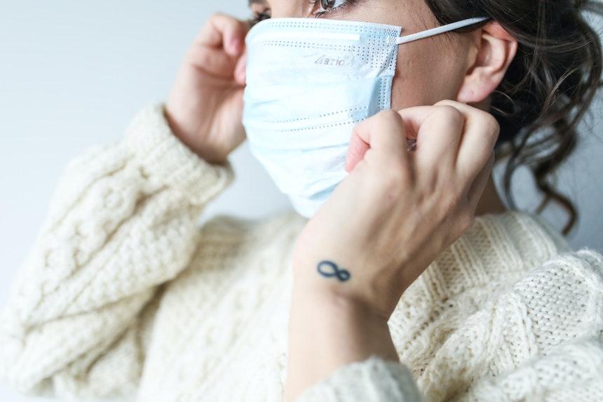 mascherine sanitarie in Italia