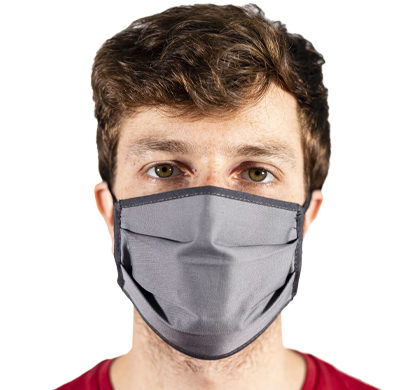 Mascherina antvirus in tessuto grigia Maskhaze per uomo