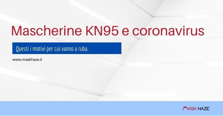Mascherine KN95 e coronavirus
