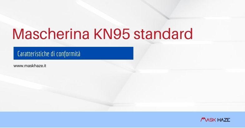 conformità della Mascherina KN95 standard