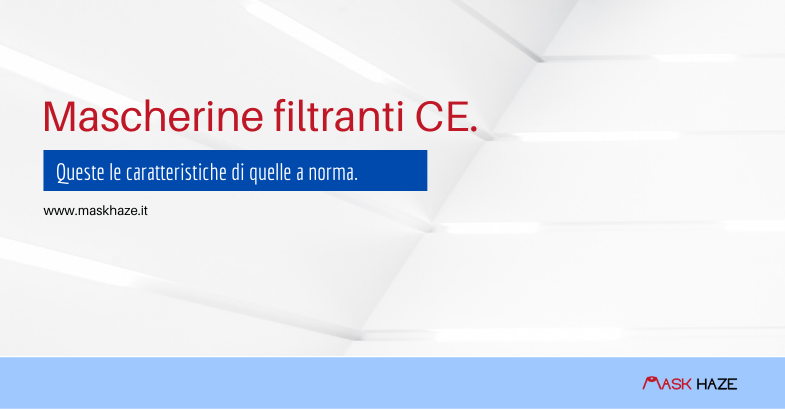 Mascherine filtranti CE on-line