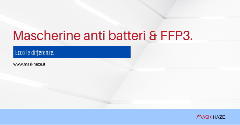 Mascherine anti batteri e coronavirus