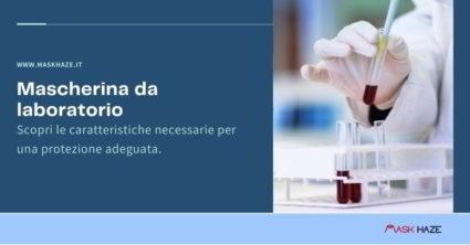 Mascherina da laboratorio